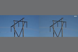 a thumdnail for published video. Wind induced vibration on self damping conductor transmission line.