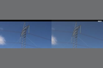 a thumdnail for published video. HVDC Tower 6.5-9 Hz